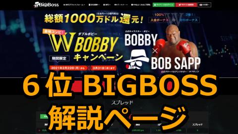 BIGBOSS(ビッグボス)解説