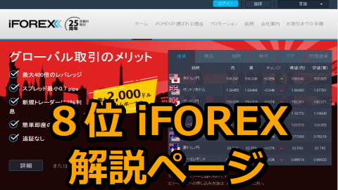 iFOREX(アイフォレックス)解説